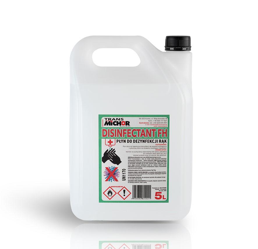desinfectant fh płyn dezynfekujący do rąk 5l